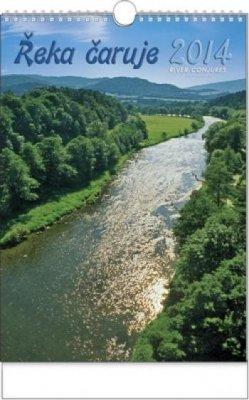 Kalendář nástěnný Řeka čaruje - A3