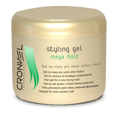 CRONVEL Mega hold styling gel 500ml