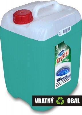 KRYSTAL WC kyselý na keramiku s ochranou zelený 20l