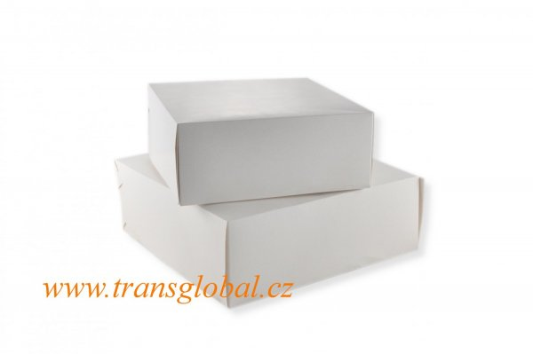 Krabice dortová 30x30x10 cm