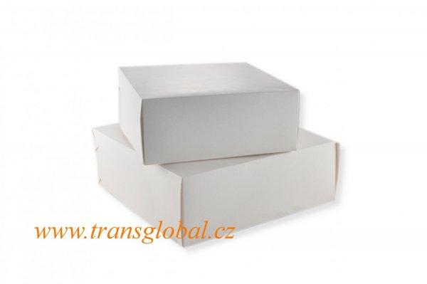 Krabice dortová 28x28x10 cm