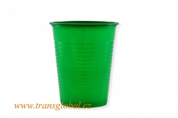Kelímek PS 0,18l zelený (10ks)