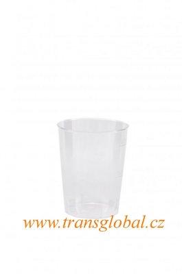 Kelímek krystal 2/4cl transp