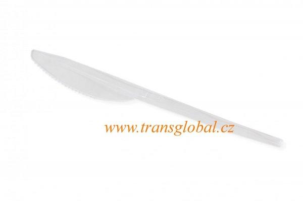 Nůž 19 cm transparent
