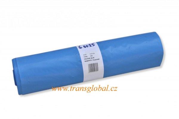 Pytel 70x110 TYP100 modrý